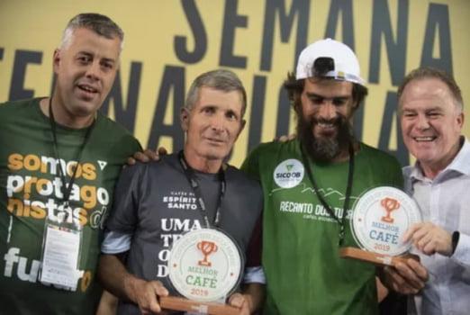 Microlotes Recanto dos Tucanos - Jataí Campeão Brasileiro 89,8pts Blend Catucaí ou Oliveiras 88pts Catuaí 144 Alto Caparaó