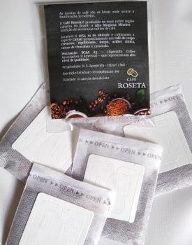 Drip Coffee Café Roseta Especial - 83 pts Catuaí Amarelo Alta Mogiana - cx 10 un